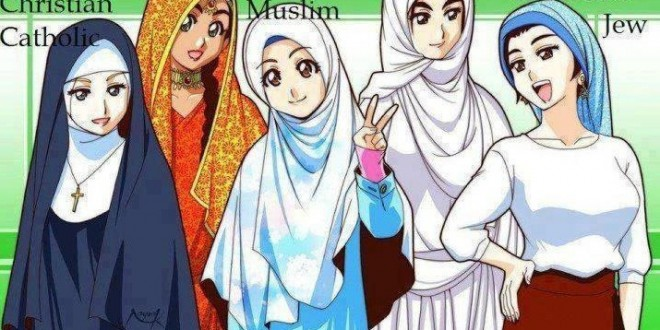 The wearing of the hijab is not exclusive to Muslims